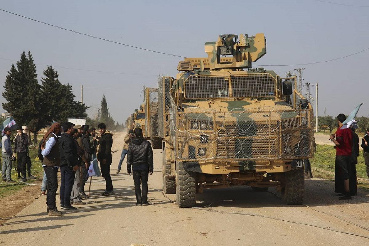 Suriyada PKK-çıların hücumu zamanı 2 Türkiyə hərbçisi şəhid olub