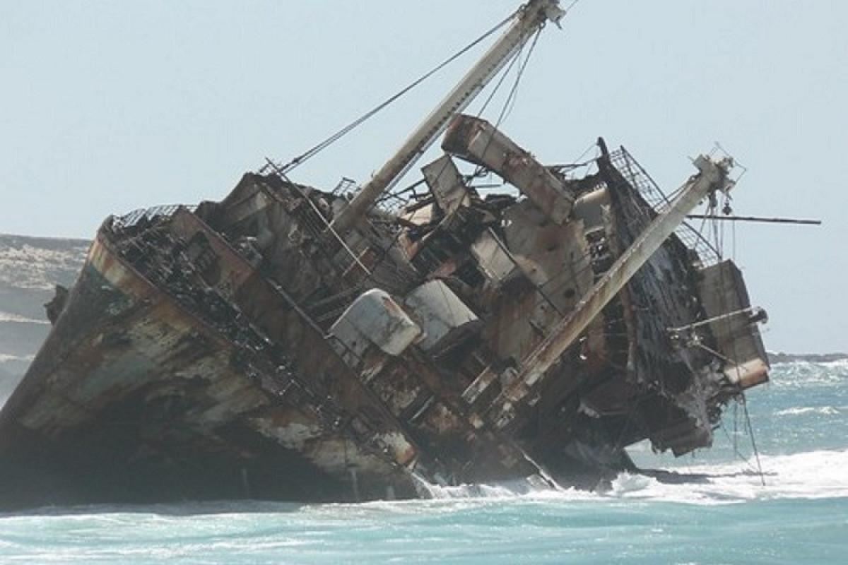 Çində gəmi batıb