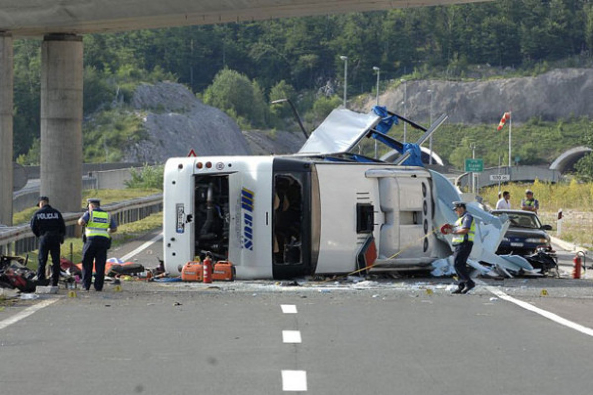 ВДТП с автобусом в Хорватии погибли 8человек