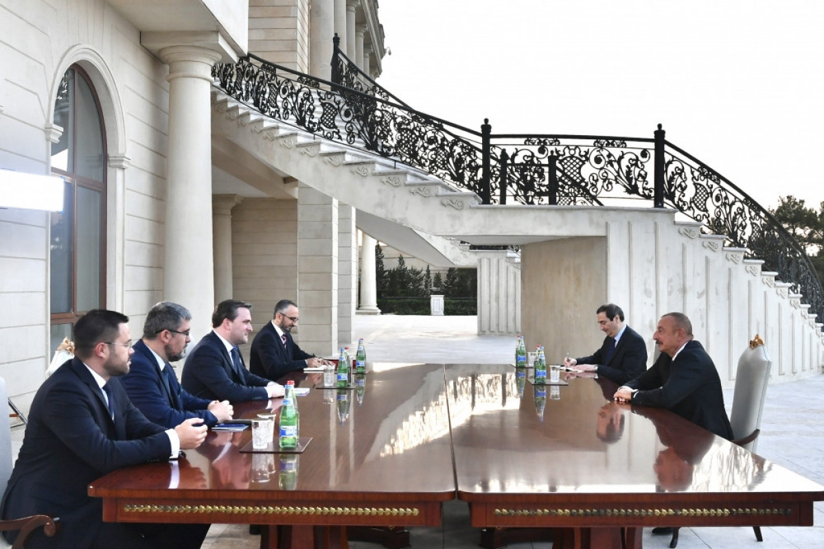 """President Ilham Aliyev received delegation led by Serbian Foreign Minister-<span class=""""red_color"""">UPDATED"""