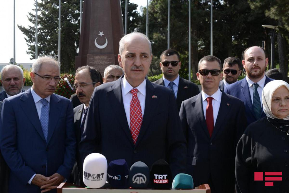 """AK Partiya sədrinin I müavini : """"Qarabag savaşında bütün gücümüzlə Azərbaycanın yanında yer almışıq"""""""