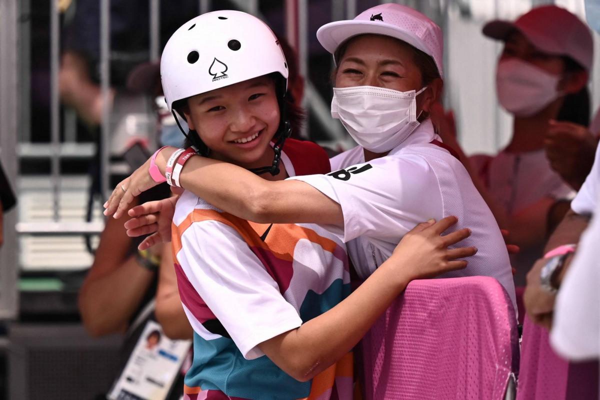 "<span class=""red_color"">Tokyo-2020:  Nishiya, 13, wins Olympic skateboarding gold"