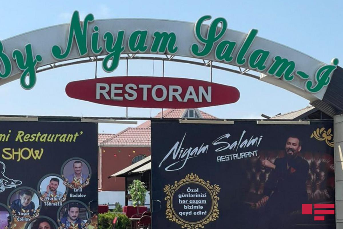 "В Сумгайыте ресторан «By Niyam Salami» оштрафован на 4000 манат-<span class=""red_color"">ФОТО"