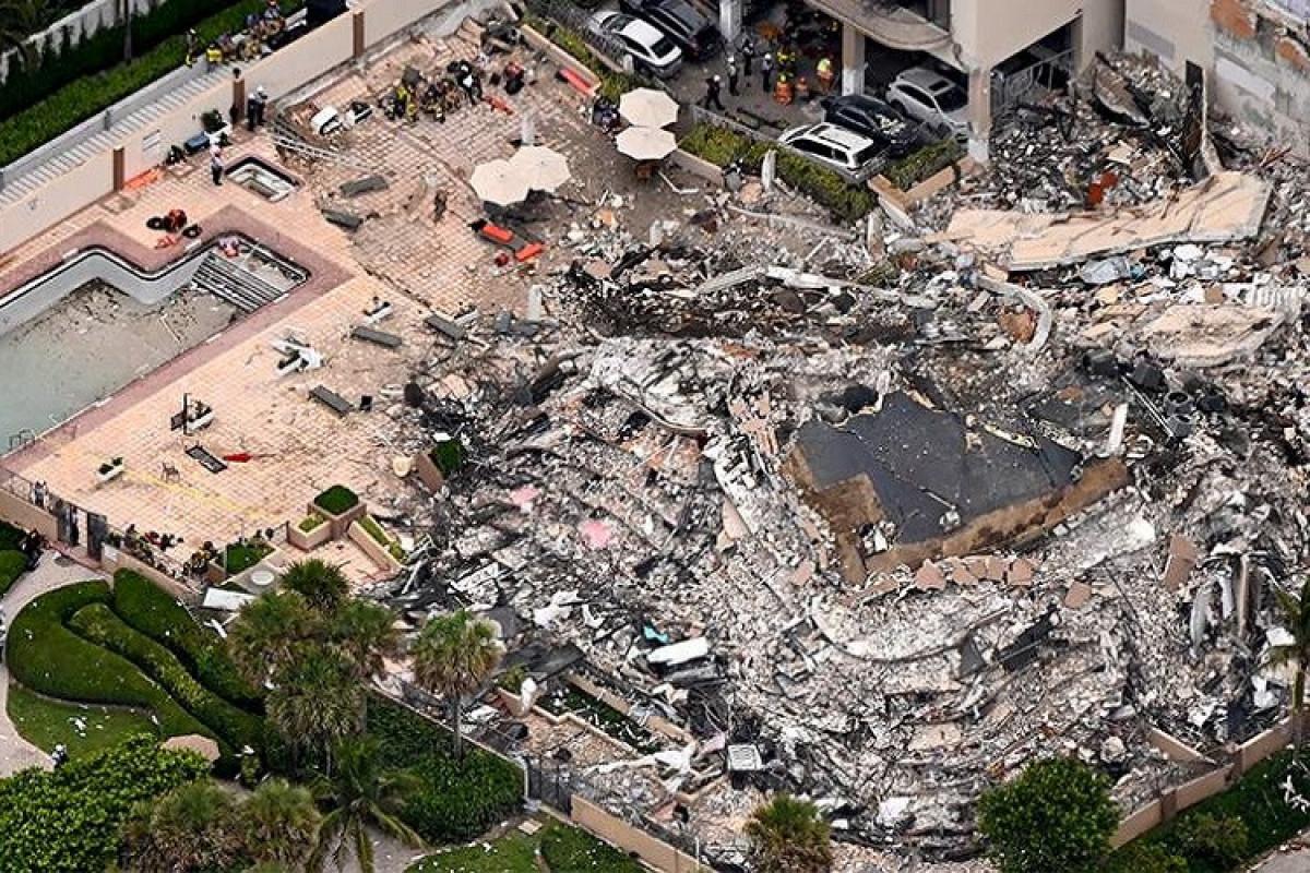 ABŞ-da yaşayış binasının çökməsi nəticəsində ölənlərin sayı artıb