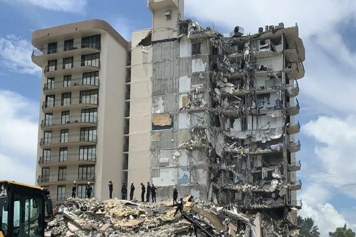 Общее число жертв обрушения дома во Флориде составило 98 человек
