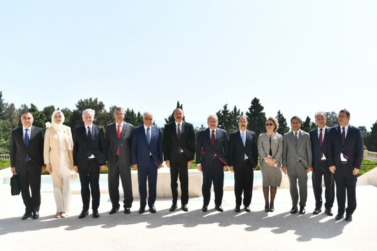 """President Ilham Aliyev received delegation led by Speaker of Grand National Assembly of Turkey-<span class=""""red_color"""">UPDATED"""
