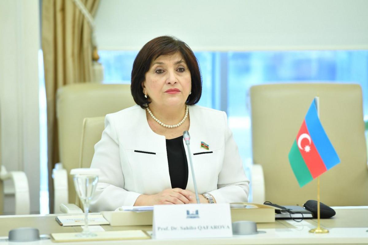 Сахиба Гафарова: Отношения между Азербайджаном, Пакистаном и Турцией основаны на взаимном доверии между нашими народами