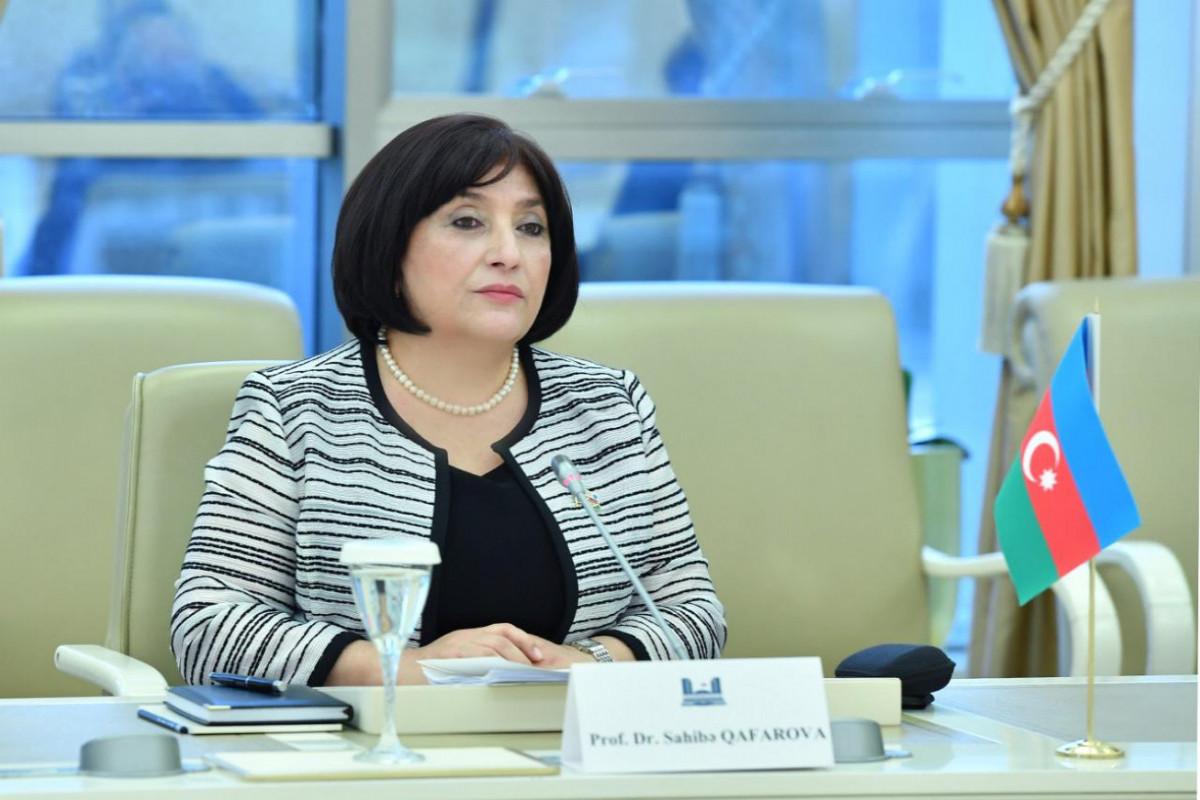 Сахиба Гафарова: Увеличение двойных стандартов побуждает нас к более тесному сотрудничеству