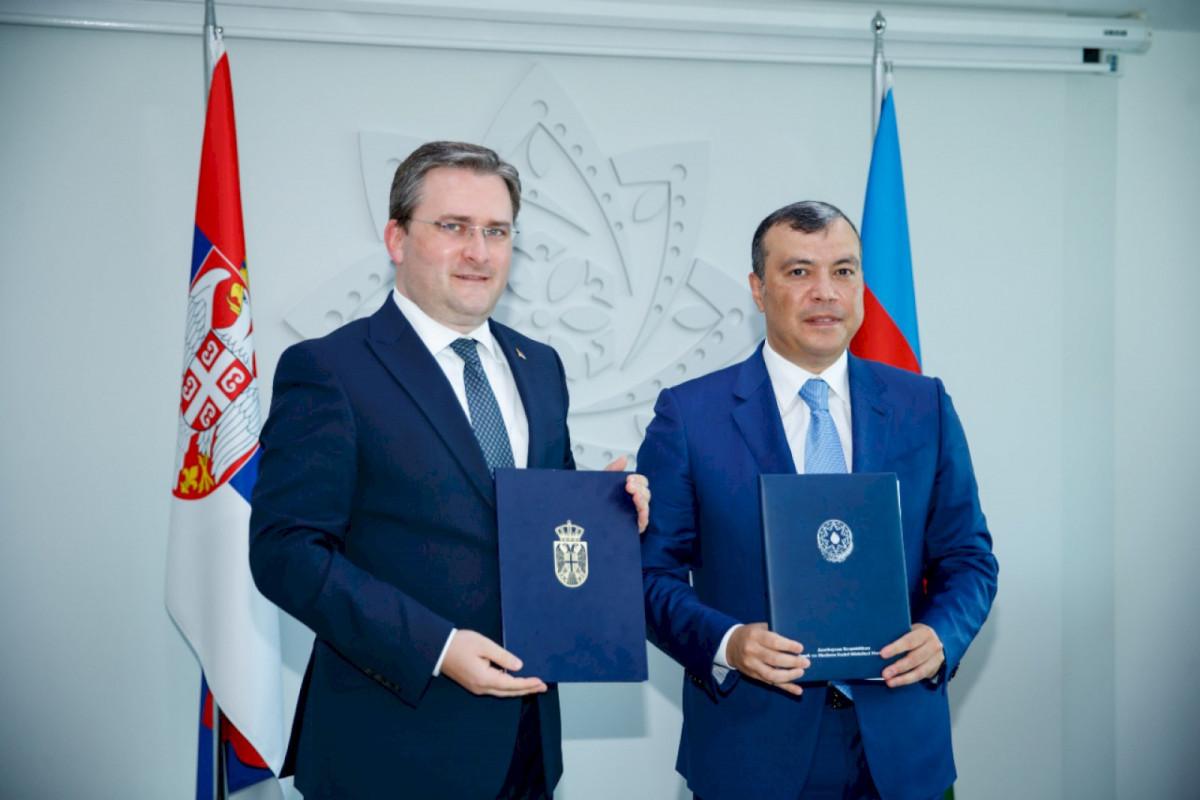 Azerbaijan-Serbia business form held