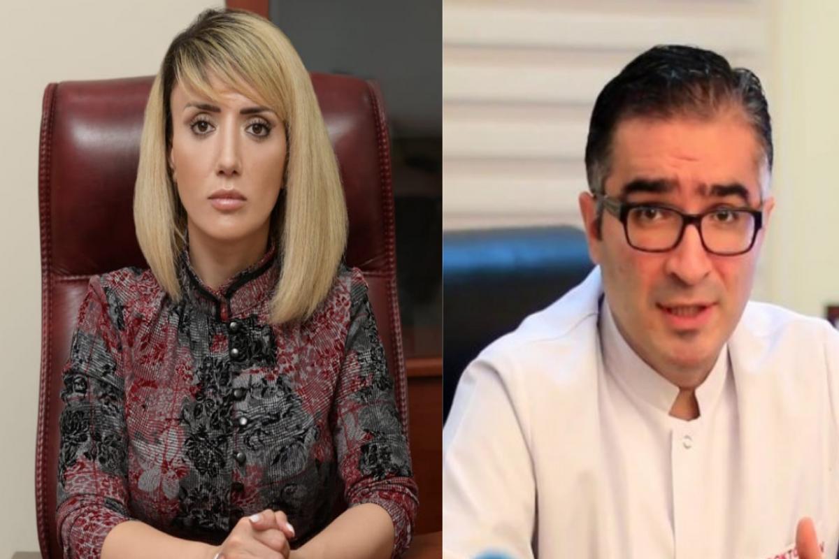 Tanınmış telejurnalistin həkimə qarşı iddiası üzrə məhkəmə prosesi keçirilib