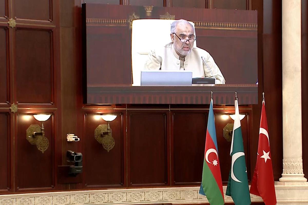 """Pakistan Milli Assambleyasının sədri: """"Azərbaycan xalqının qələbəsi Pakistanda da qeyd edilib"""""""
