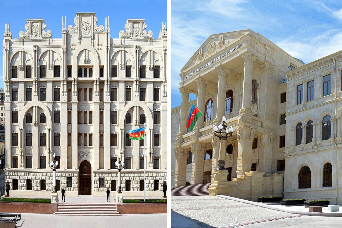 Генпрокуратура и МВД распространили совместную информацию в связи с подорвавшим себя мужчиной в Баку