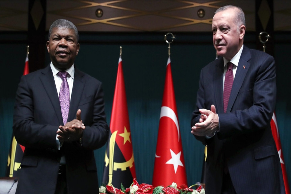 'Turkey, Angola agree to reach $500M trade volume': Turkish leader