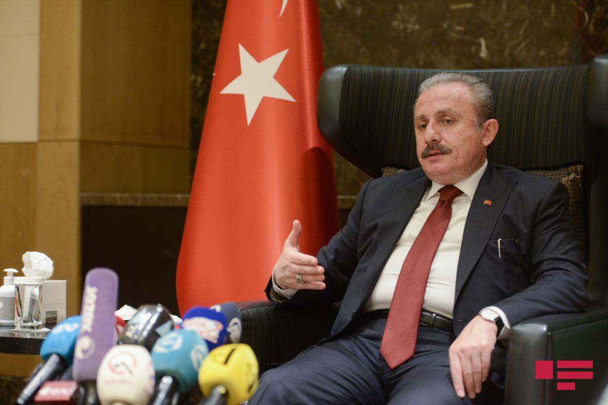 "Mustafa Shentop: ""Baku declaration is not against anyone"""