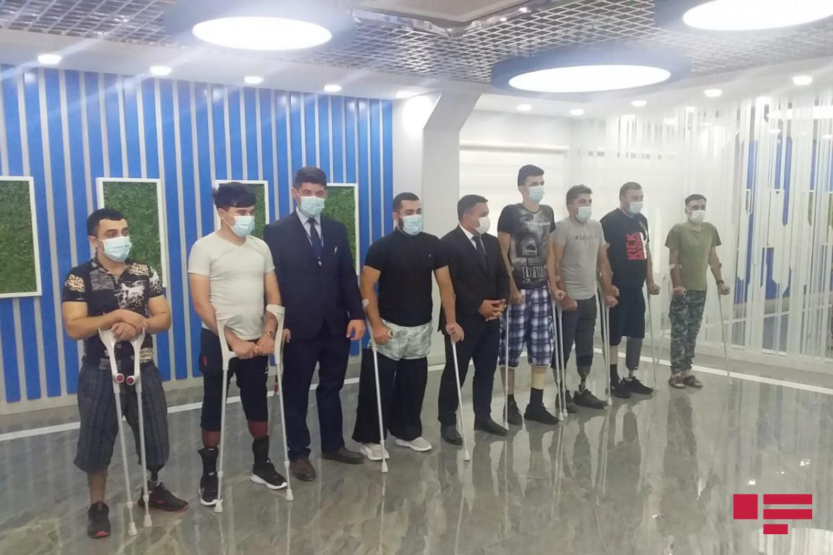 Bu günə qədər 109 qaziyə 113 yüksək texnologiyalı protez verilib - VİDEO  - YENİLƏNİB
