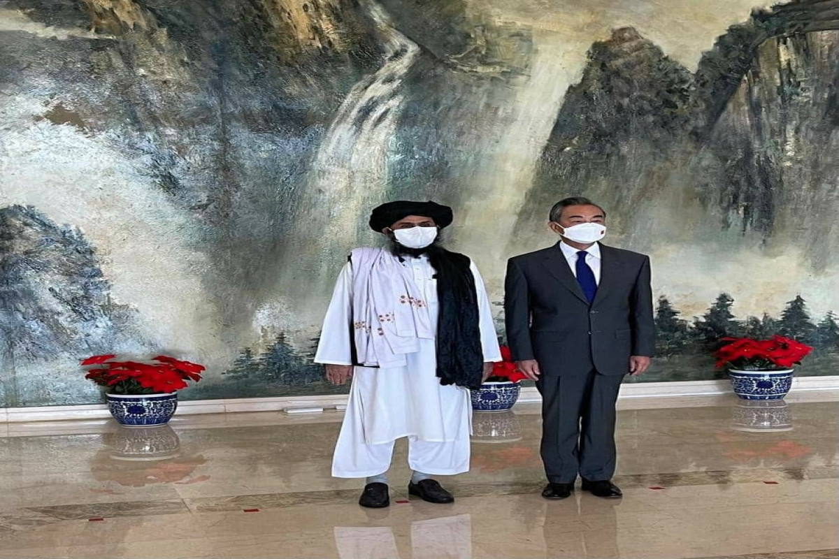 Taliban leader visits China for talks with Foreign Minister Wang Yi