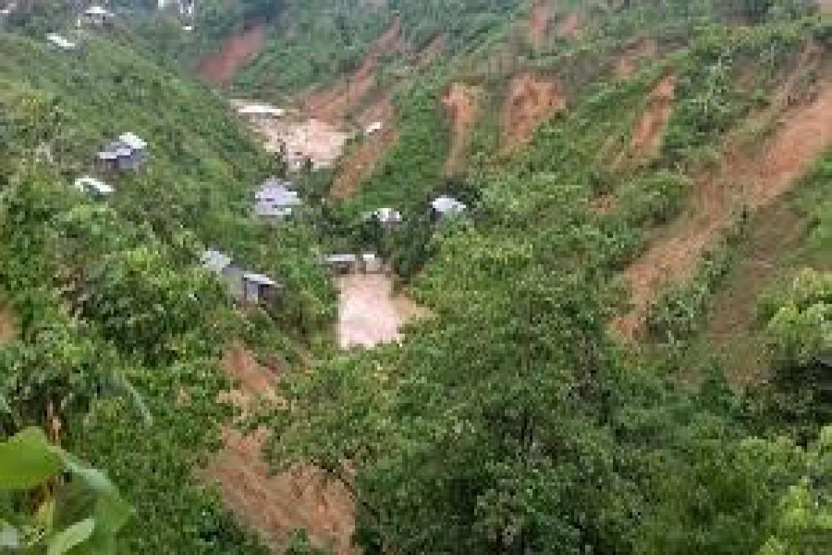 5 children of same family killed in SE Bangladesh landslide