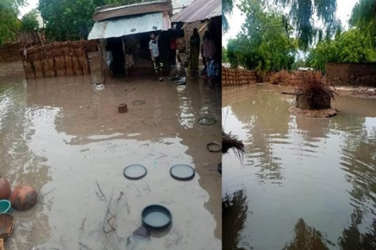 2 killed, 1,500 houses damaged by heavy downpour in north Nigeria