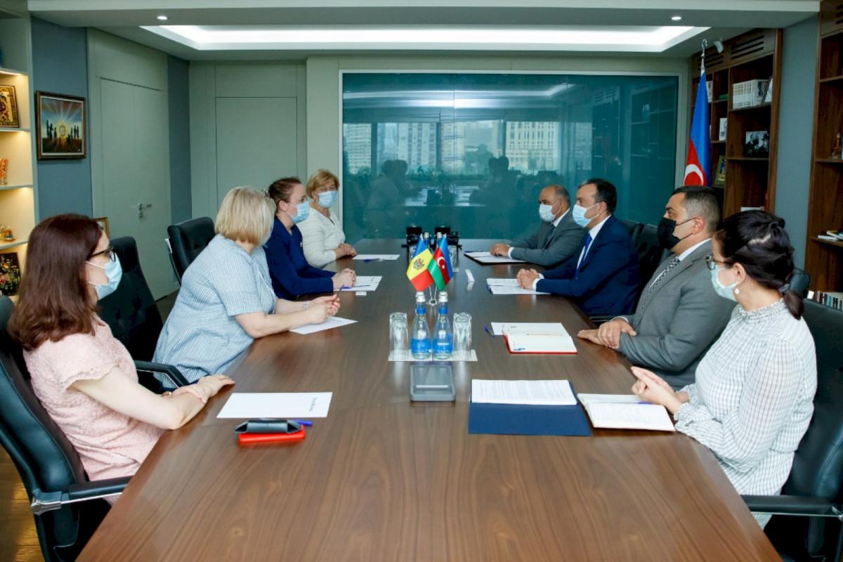 Sahil Babayev Moldova nümayəndə heyəti ilə görüş olub