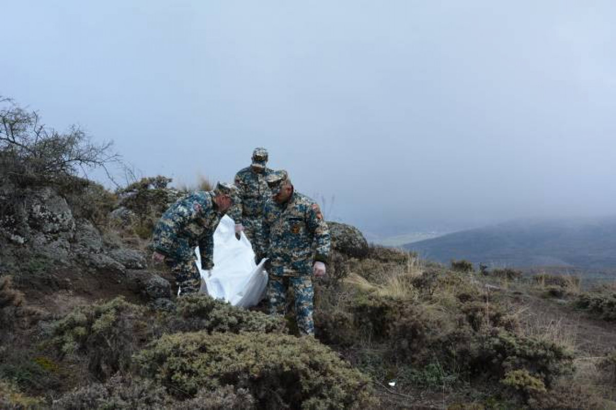 Remains of two more Armenian soldiers found in Azerbaijan