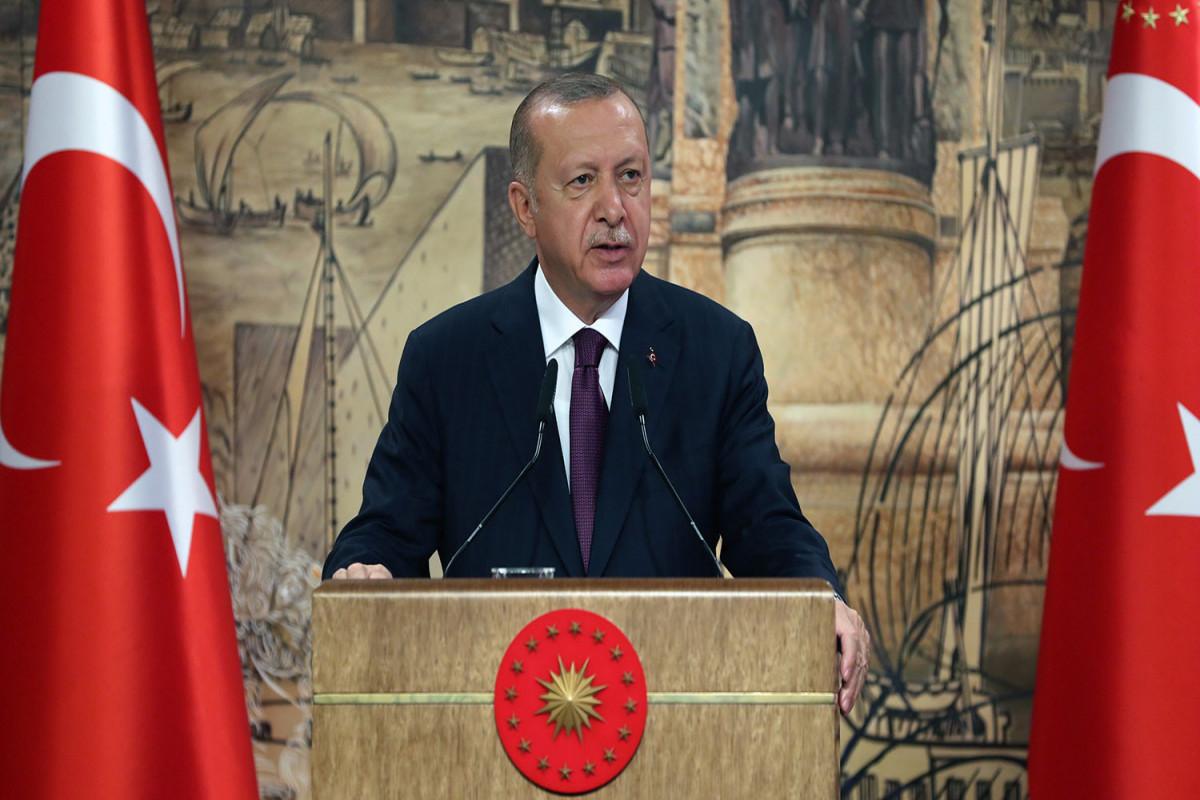 Эрдоган: Турция планирует начать добычу газа в Черном море к 2022 году