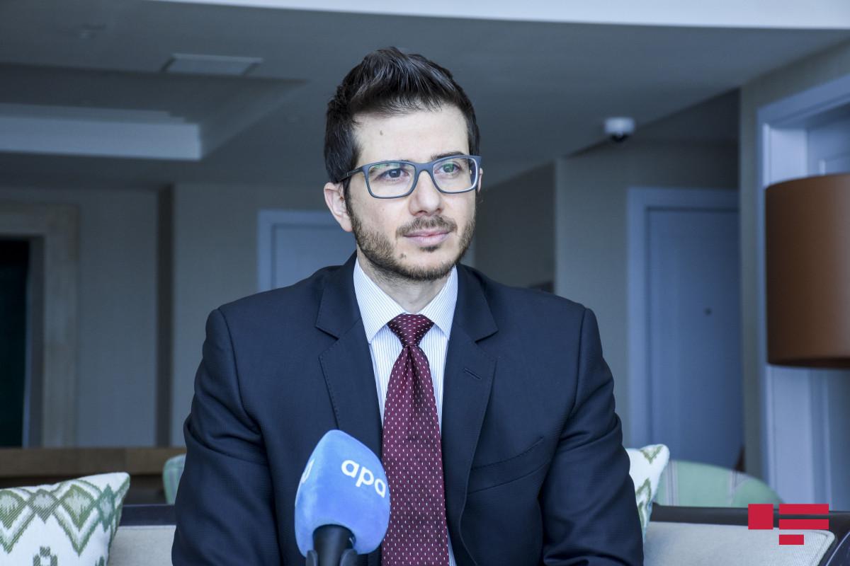"""George Deek: """"Opening of Azerbaijan"""