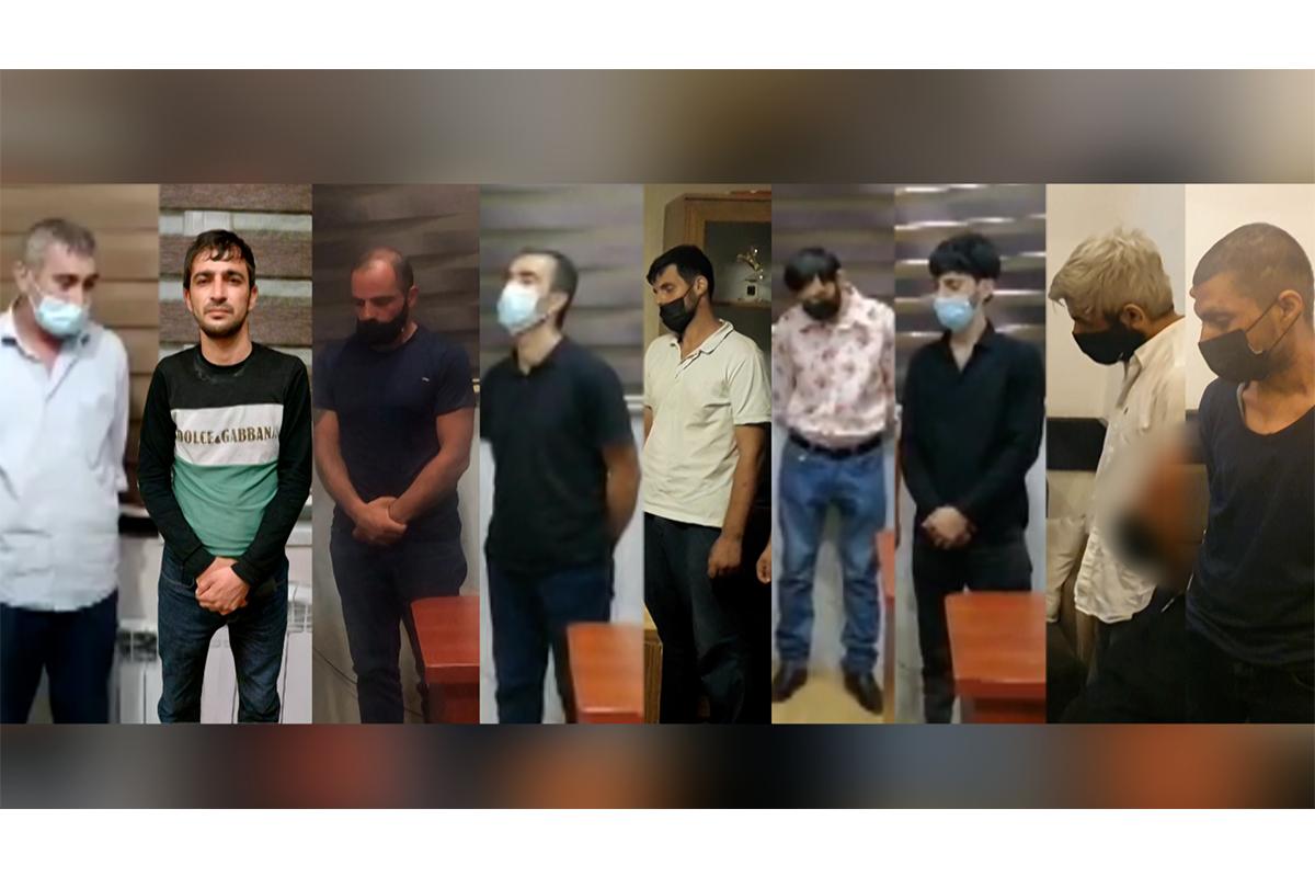 Bakıda narkotik satışı ilə məşğul olan 9 nəfər tutulub - VİDEO