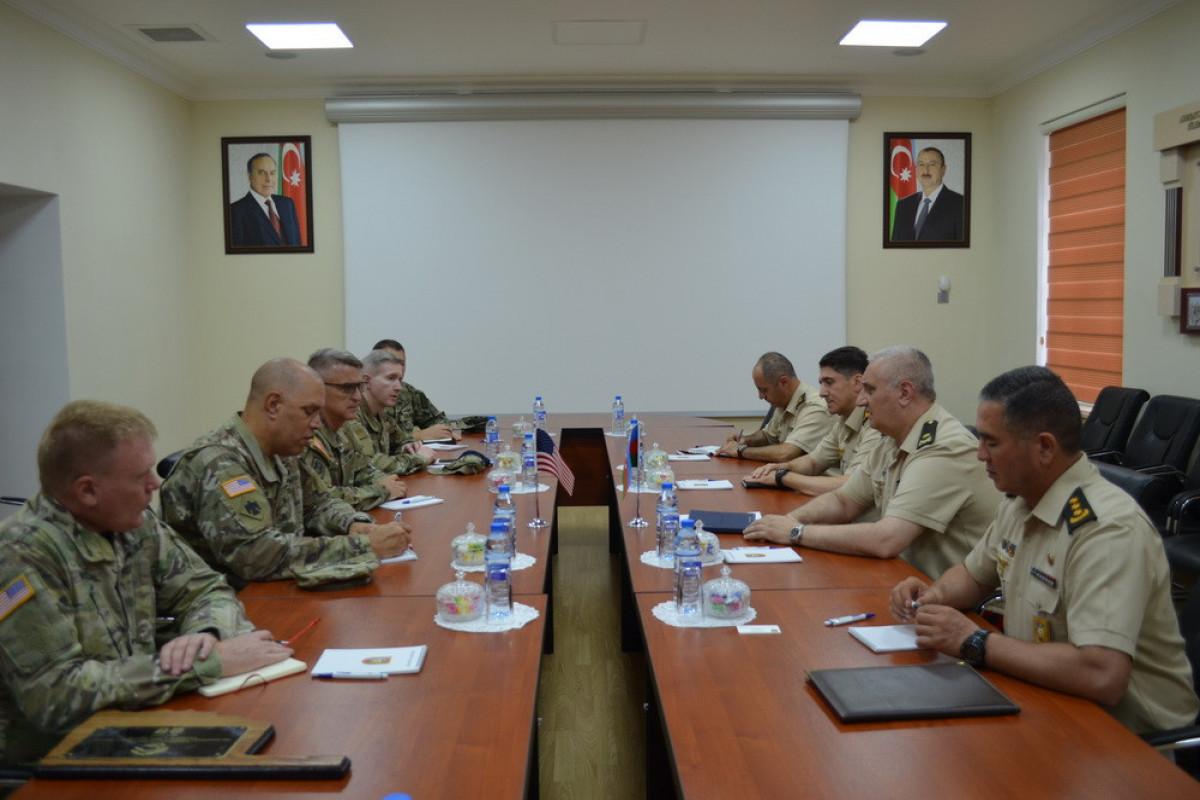 Azerbaijani MoD: Visit of the US Oklahoma Army National Guard's delegation to Azerbaijan continues