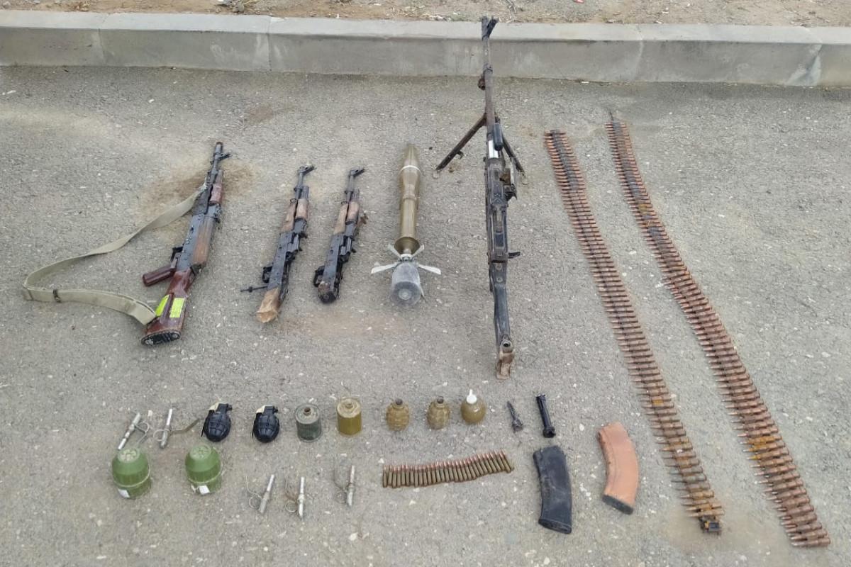В Ходжалы обнаружены боеприпасы