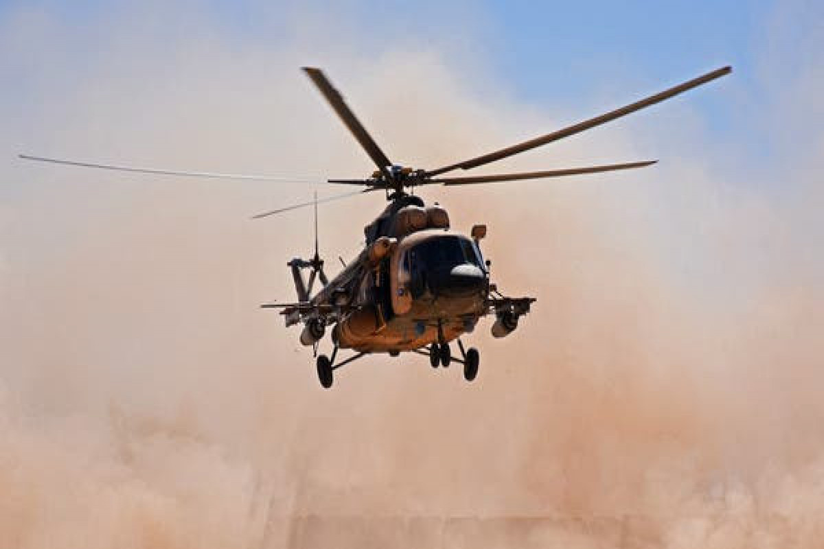5 killed in military helicopter crash in northern Iraq