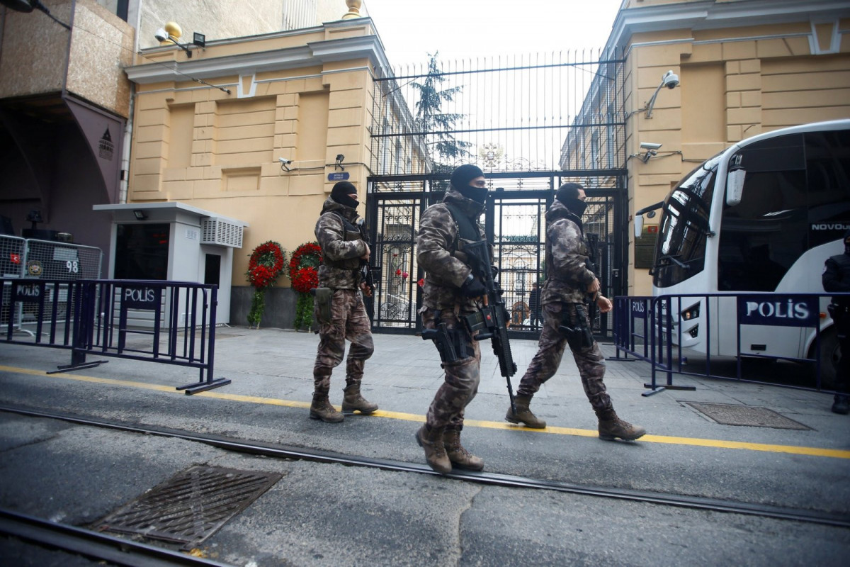 Fire breaks out at Russian consulate in Istanbul