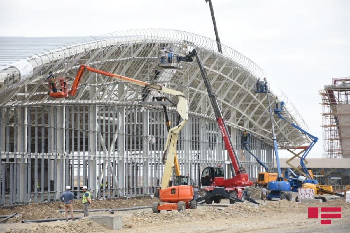 Рассказано о работах, связанных со строительством аэропорта Физули