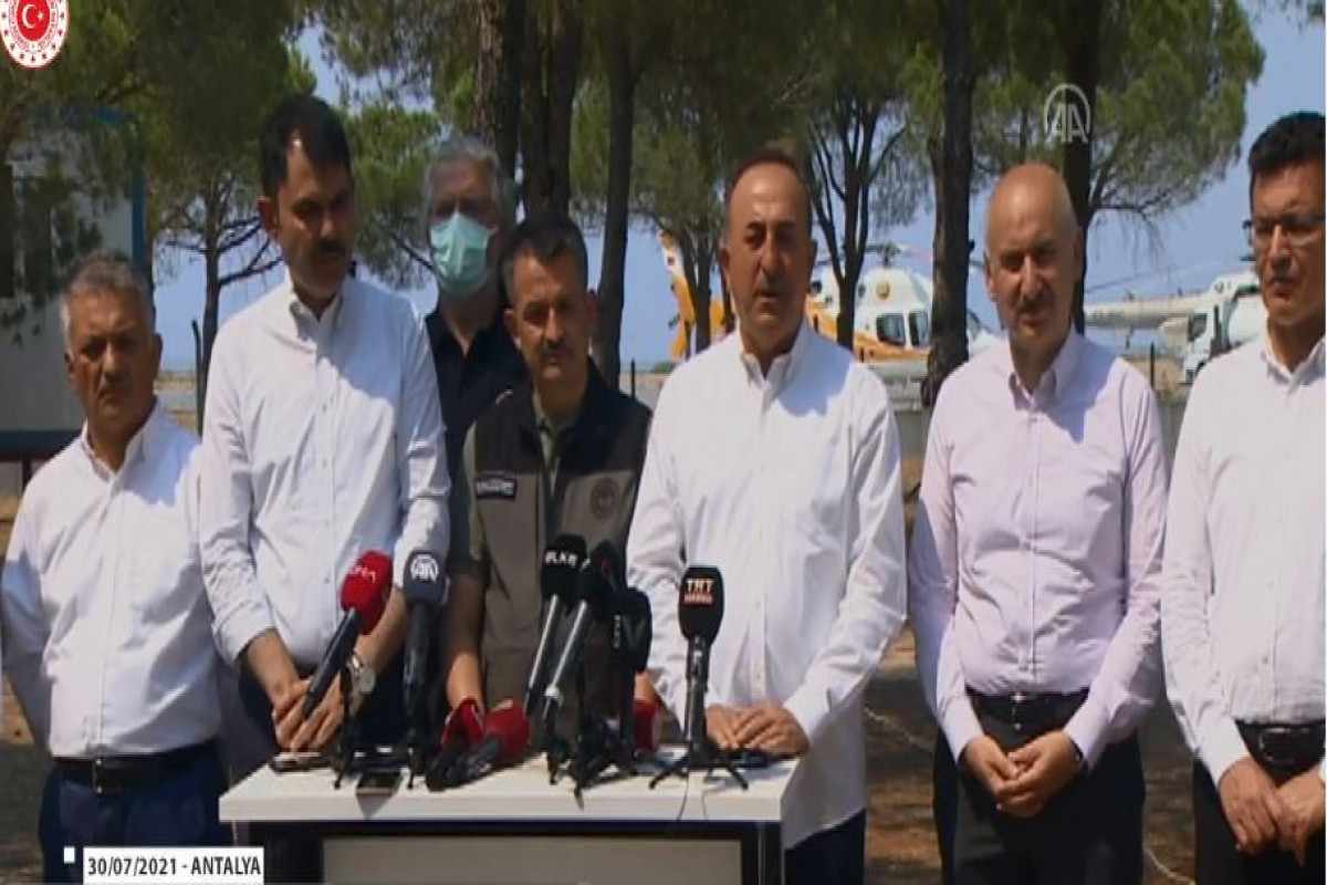 Министр сельского и лесного хозяйства Турции: 57 очагов возгорания уже взяты под контроль