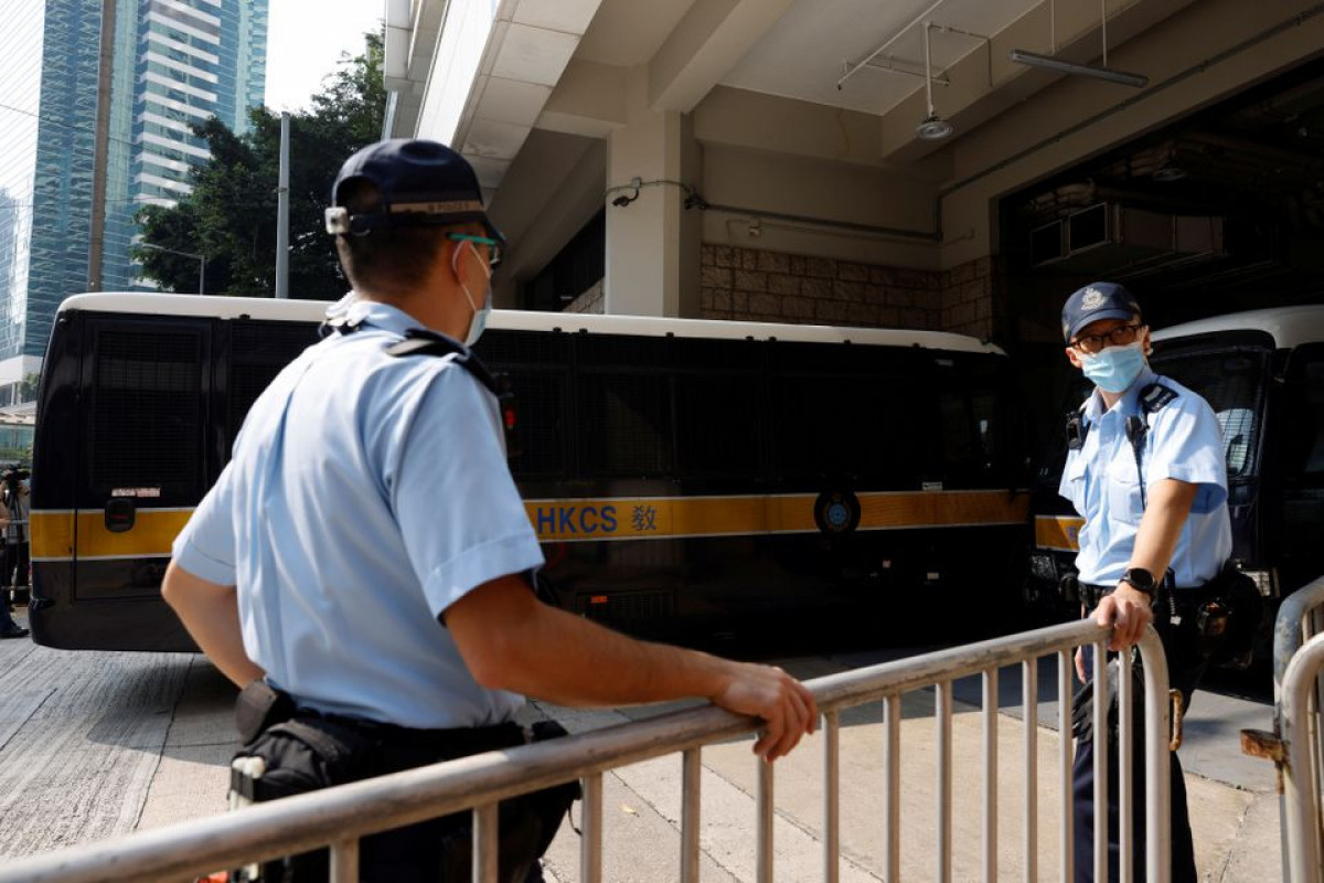 Hong Kong man jailed for 9 years in first national security case