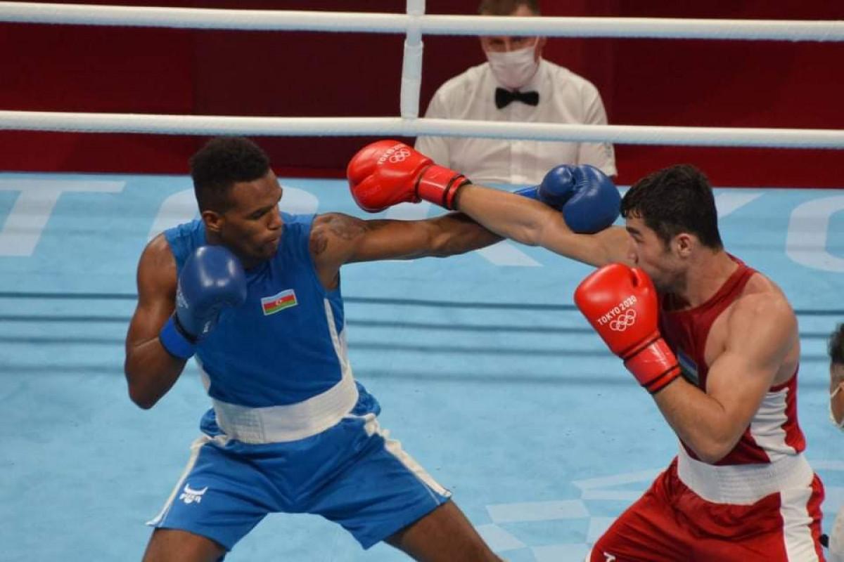 """<span class=""""red_color"""">Токио-2020: Азербайджанский боксер вышел в полуфинал"""