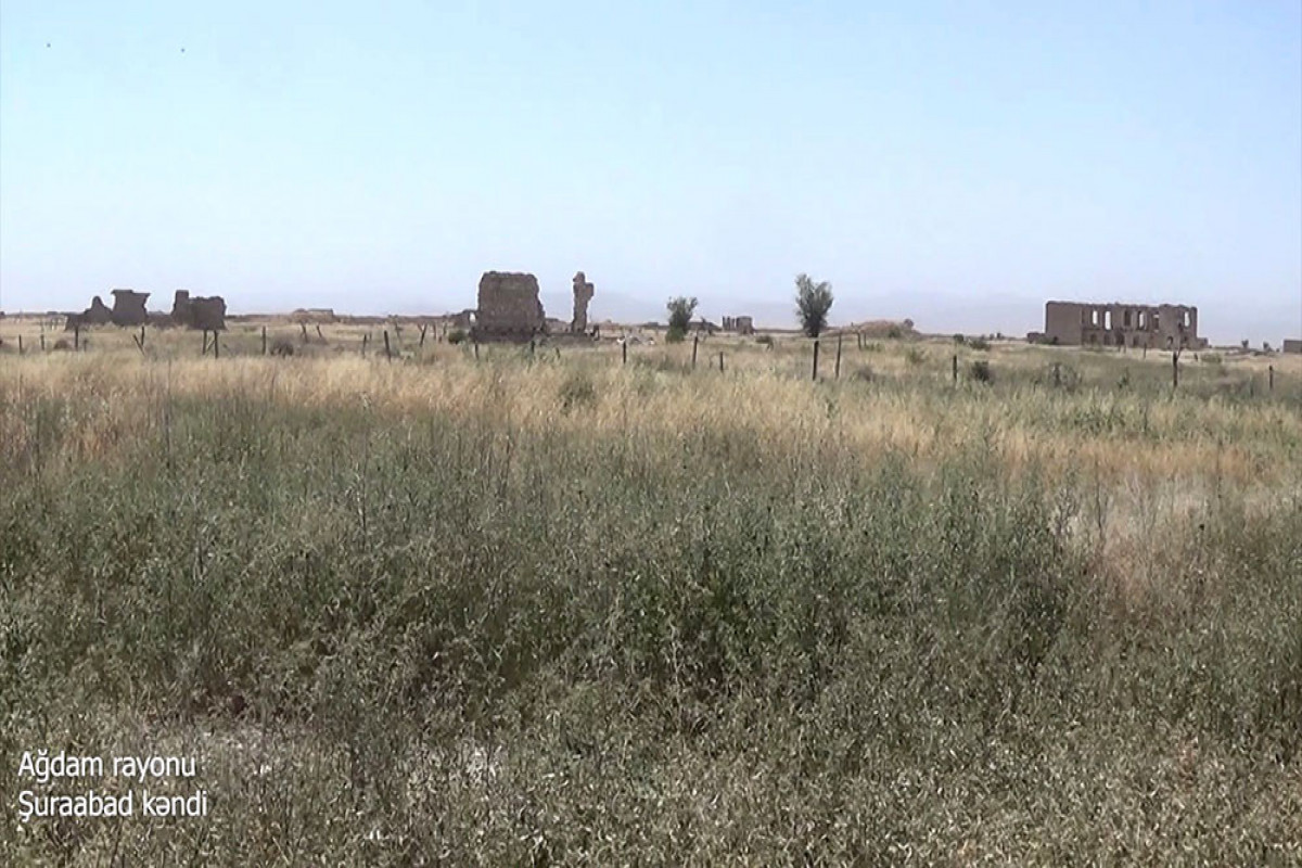 """Azerbaijani MoD released video footage of the Shuraabad village of the Aghdam region -<span class=""""red_color"""">VIDEO"""
