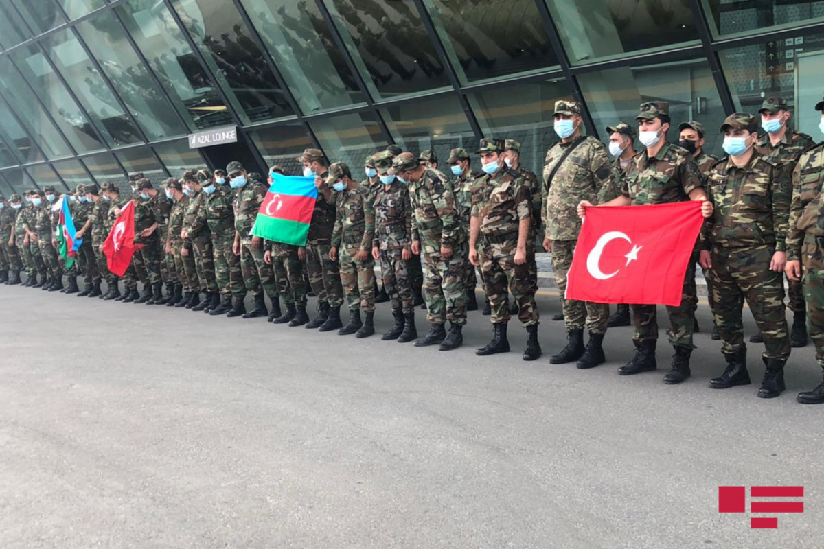 Firefighting teams of Azerbaijan