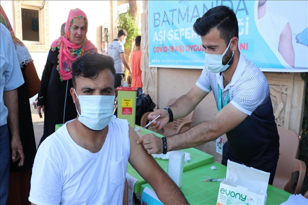 Turkey administers over 72.59M COVID-19 vaccine shots so far