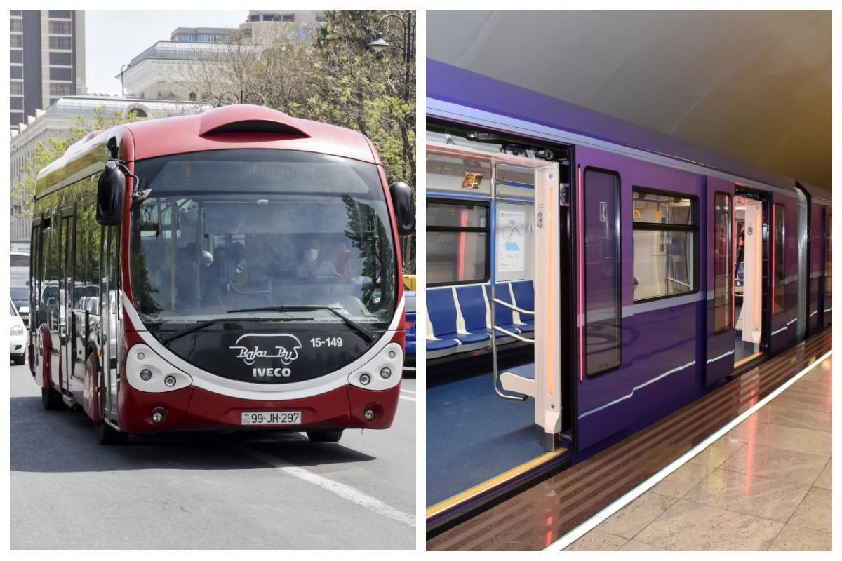 В Азербайджане до 2 августа не будет работать общественный транспорт