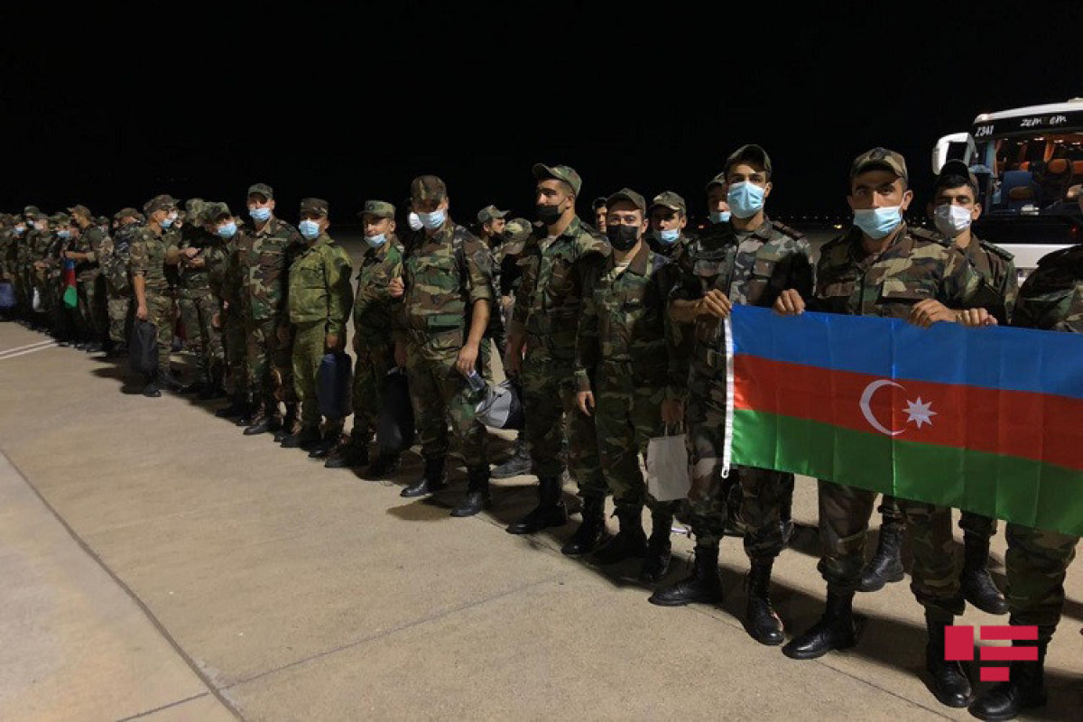 """A group of Azerbaijani firefighters arrived in Turkey-<span class=""""red_color"""">PHOTO"""