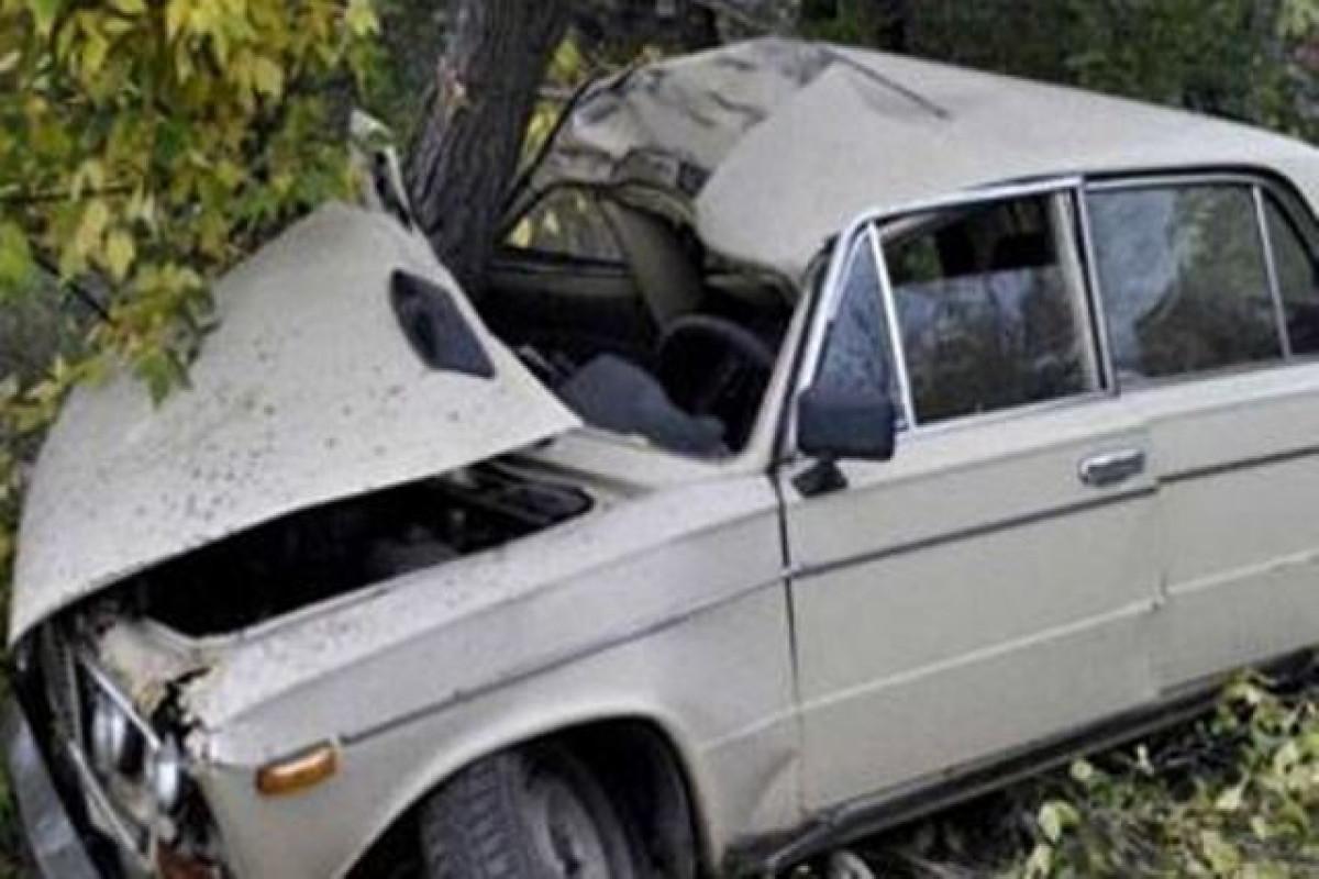 Zaqatalada avtomobilin ağaca çırpılması nəticəsində üç nəfər xəsarət alıb