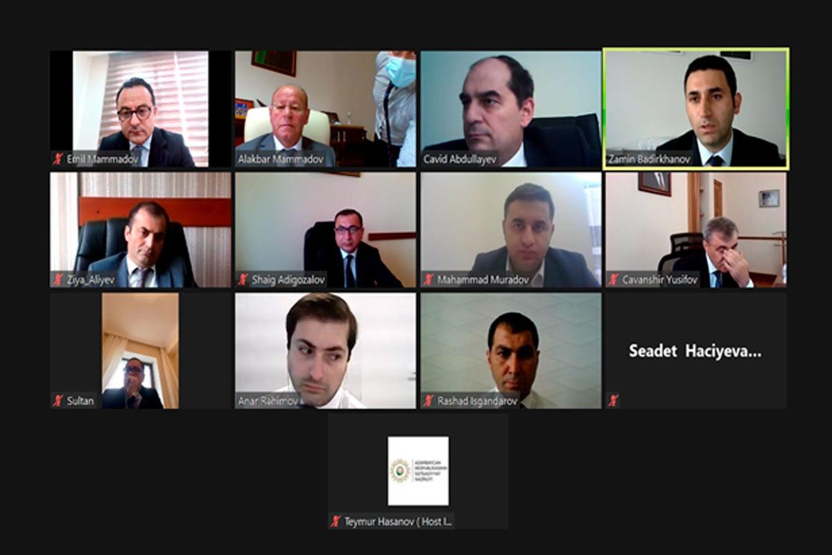 Состоялось очередное заседание рабочей группы по экономическим вопросам Межведомственного центра