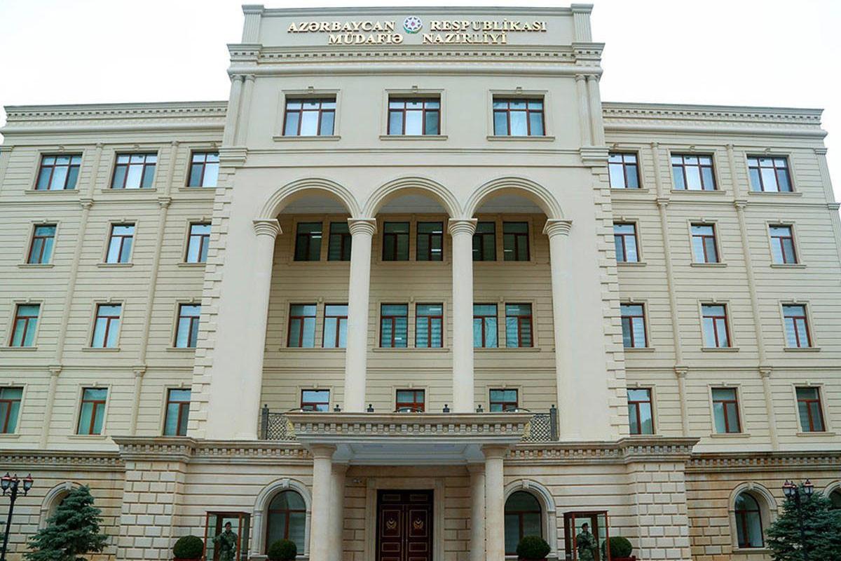 Минобороны: Азербайджанская Армия не обстреливала противоположную сторону