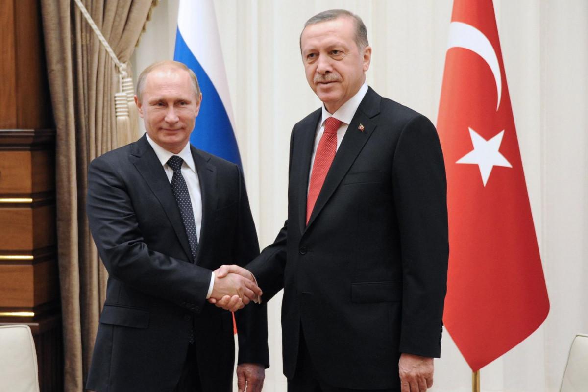 Эрдоган и Путин обсудили лесные пожары в Турции и двусторонние связи