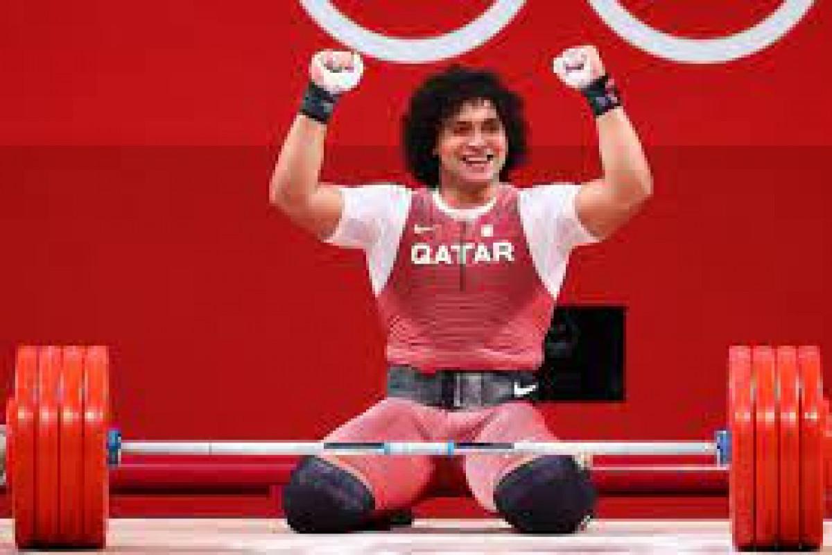 """<span class=""""red_color"""">Tokio-2020: Qətər Olimpiadalarda ilk qızıl medalını qazanıb"""