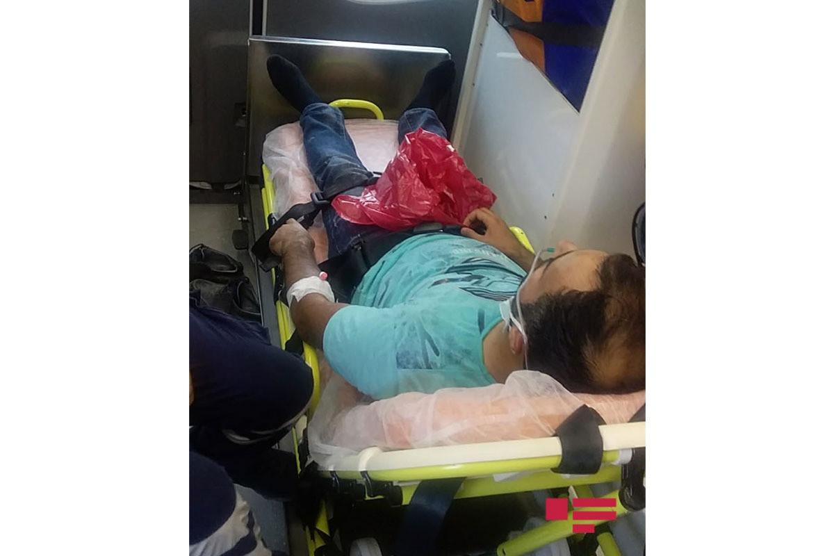 Госпитализирован сотрудник АПА, командированный в зону пожаров в Турции
