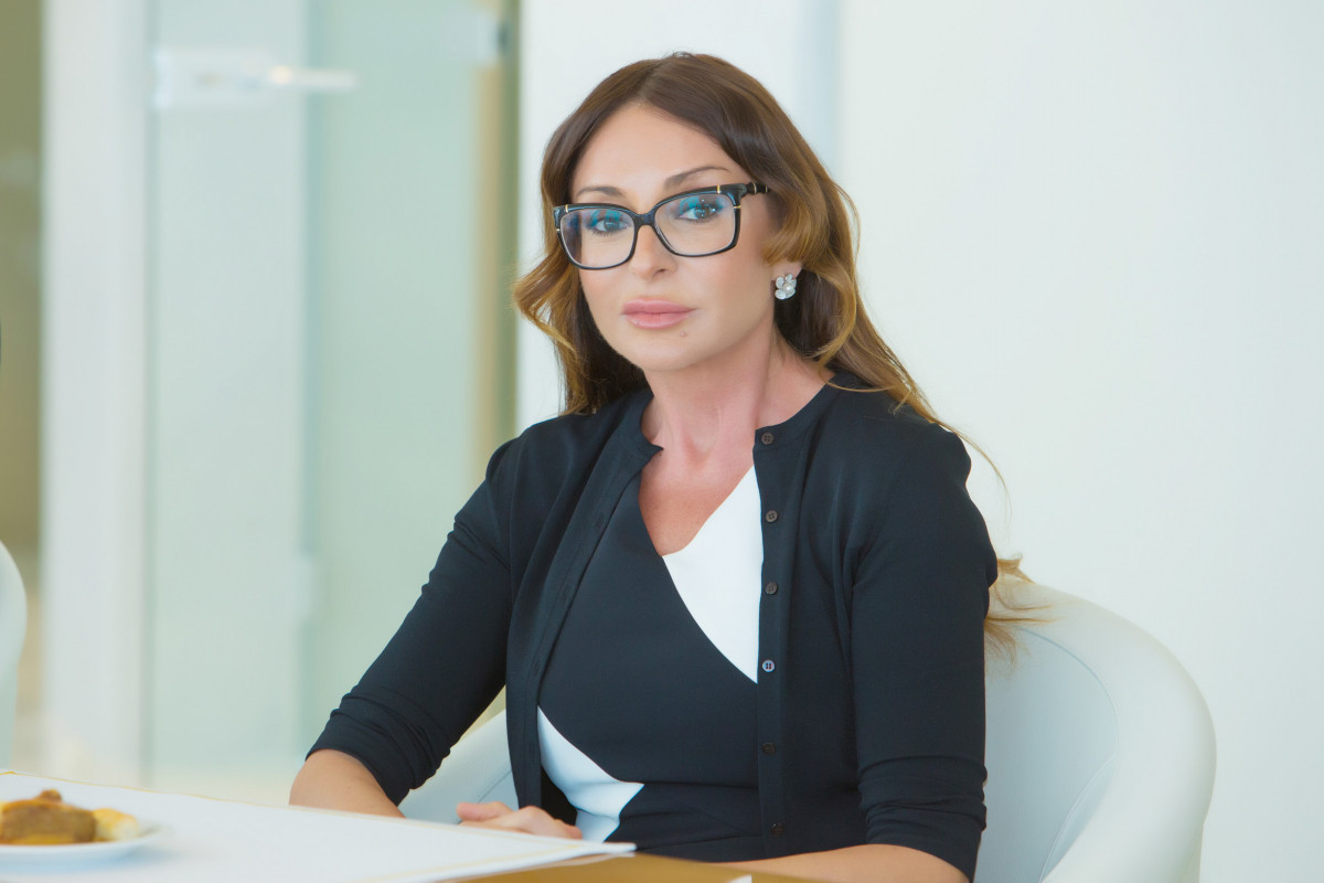 """First Vice President Mehriban Aliyeva congratulated winners of the """"Yukselish"""" competition"""