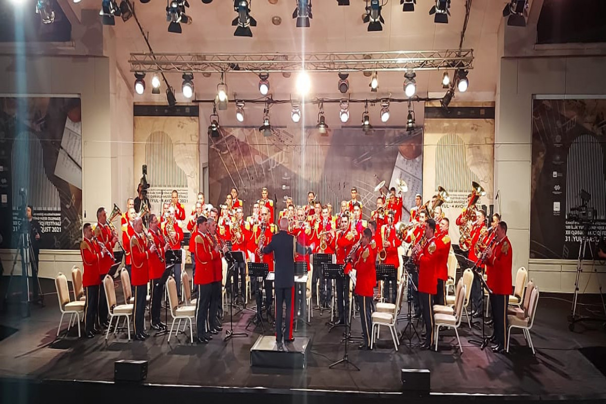 """Congratulatory letter from First Vice President Mehriban Aliyeva was read at the official opening ceremony of the 12th Gabala Music Festival-<span class=""""red_color"""">PHOTO"""
