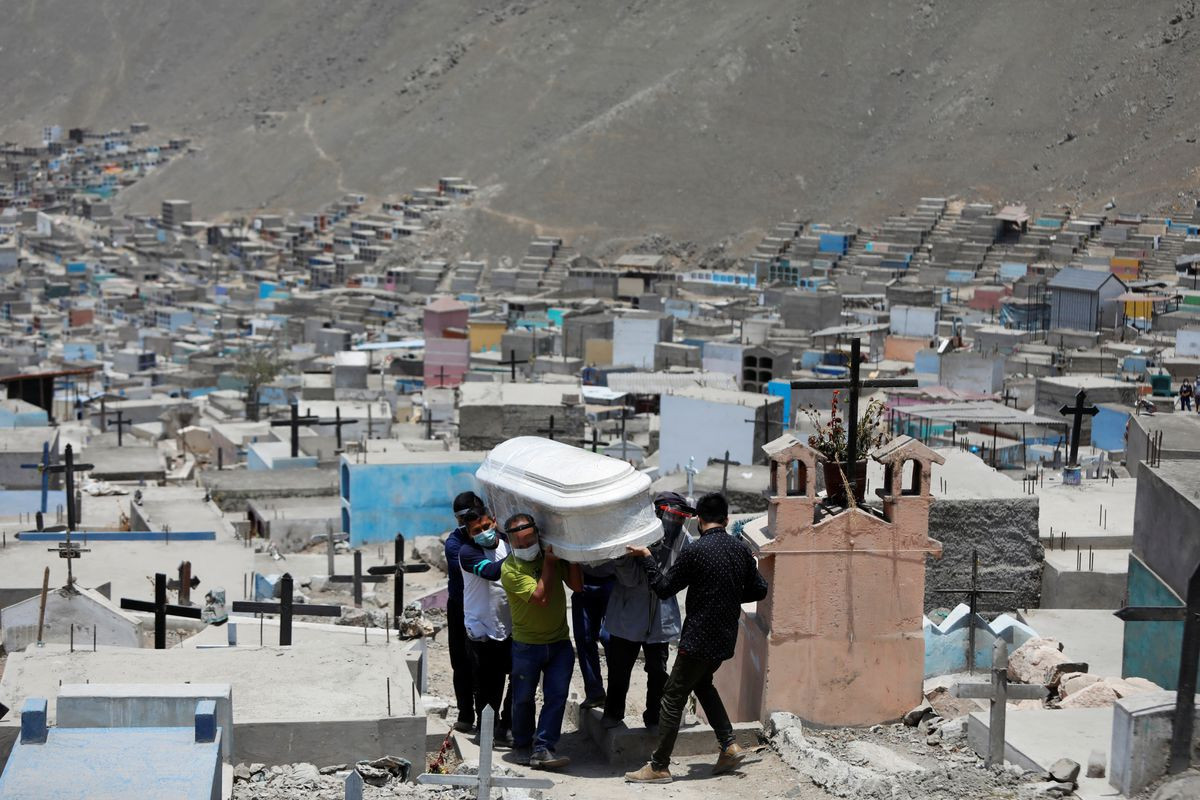 Peru revises pandemic death toll, now worst in the world per capita