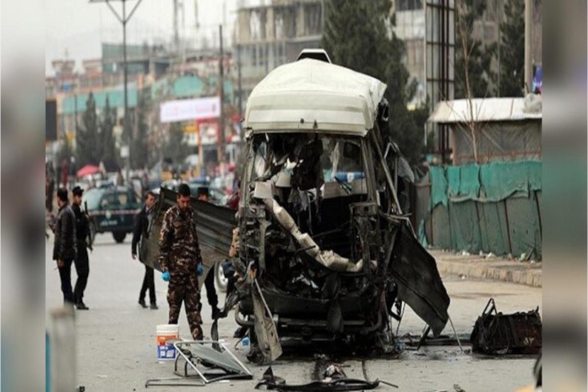 Əfqanıstanda polis binasının yaxınlığında avtomobil partladılıb, 3 nəfər ölüb, 4 nəfər yaralanıb